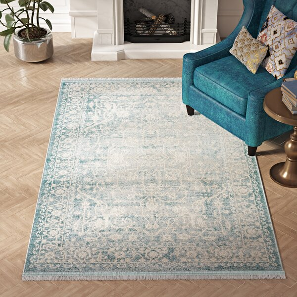 Bryant Oriental Light Blue Area Rug by Willa Arlo Interiors