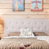 Cassity Upholstered Panel Headboard by Charlton Home®