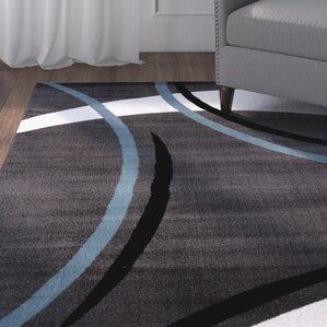 allison rectangle gray area rug