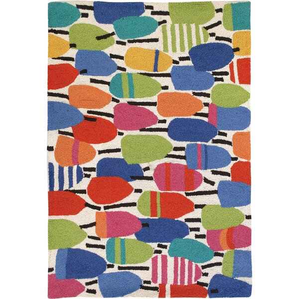 Buoys Hooked Area Rug by Kate Nelligan