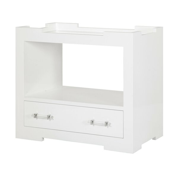 One Drawer Console Table By Worlds Away