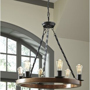 Aukerman 6 Light Mini Chandelier