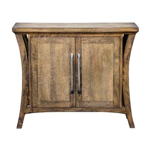 Remi Distressed 2 Door Accent Cabinet by Gracie Oaks