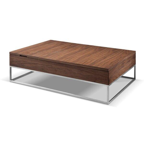 Ashburt Metal and Wood Lift Top Coffee Table by Brayden Studio