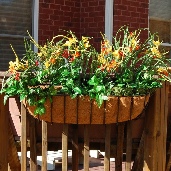 Hyde Park Steel Window Box Planter by Griffith Creek Designs