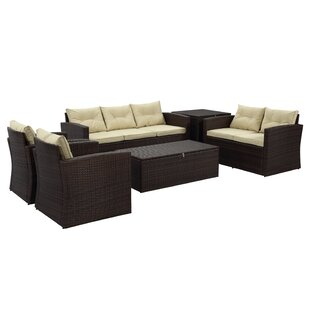 Freda 6 Piece Sofa Set with Cushions By Mistana