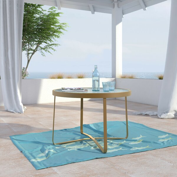 Mirabelle Glass Coffee Table by Elle Decor