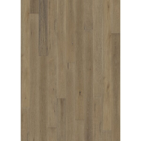 Canvas 5 Engineered Oak Hardwood Flooring in Hue by Kahrs