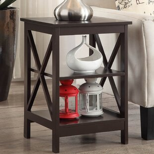 Review Stoneford End Table by Beachcrest Home