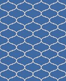 Nora Blue Indoor/Outdoor Area Rug by Longshore Tides