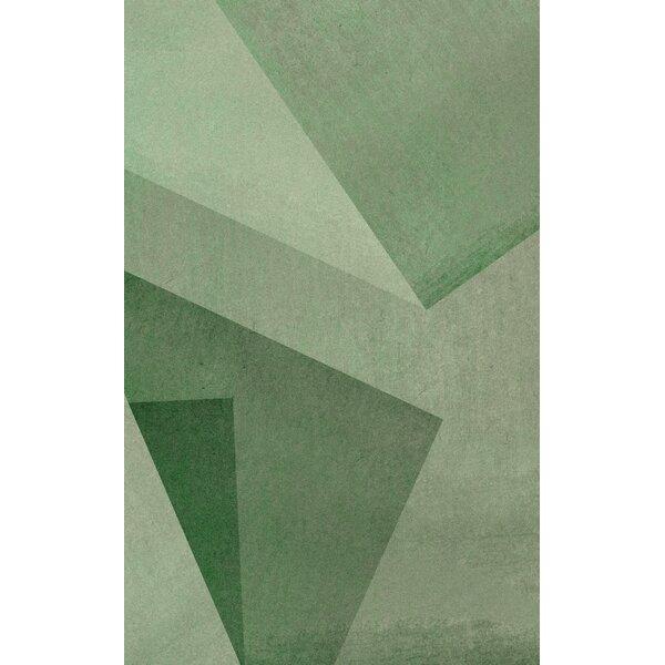 Green Area Rug by Corrigan Studio