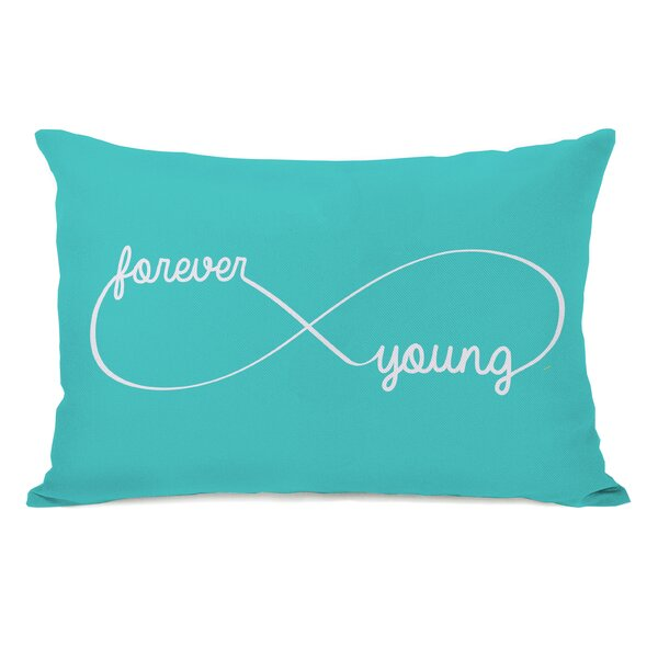 Infinite Forever Young Lumbar Pillow by One Bella Casa