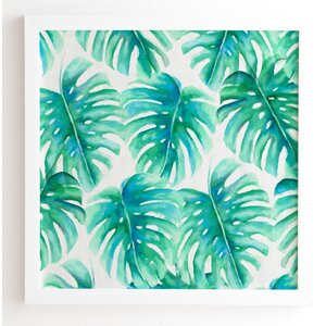 Paradise Palms Framed Graphic Art by Bay Isle Home