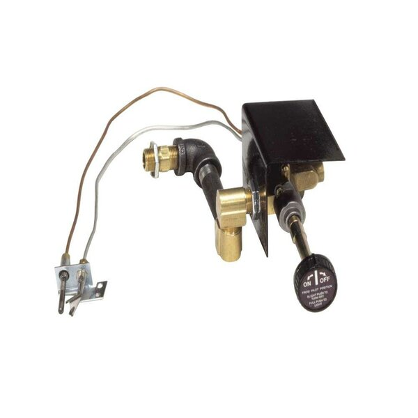 Four Seasons Discovery Elm Vented Dual Burner Safety Pilot Kit by SureHeat