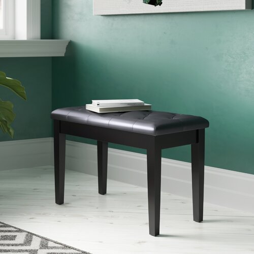 Hoagland Storage Bedroom Bench ClassicLiving Colour: Black