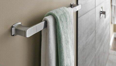 Via 18 Wall Mounted Towel Bar by Moen
