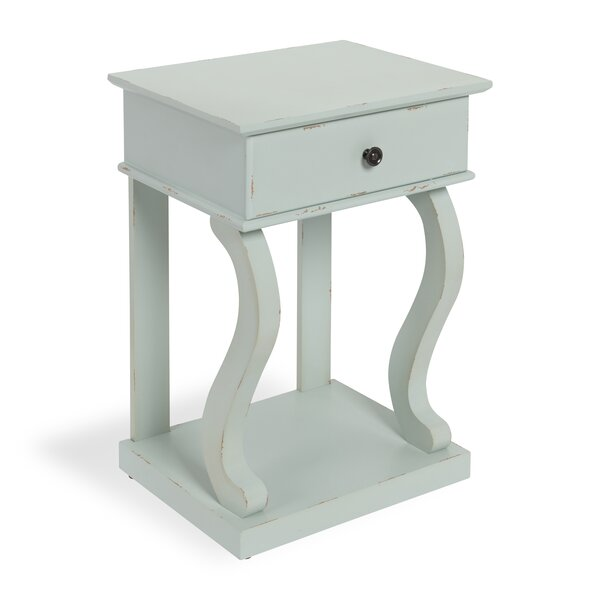 Astoria Farmhouse Chic 1 Drawer Nightstand by August Grove