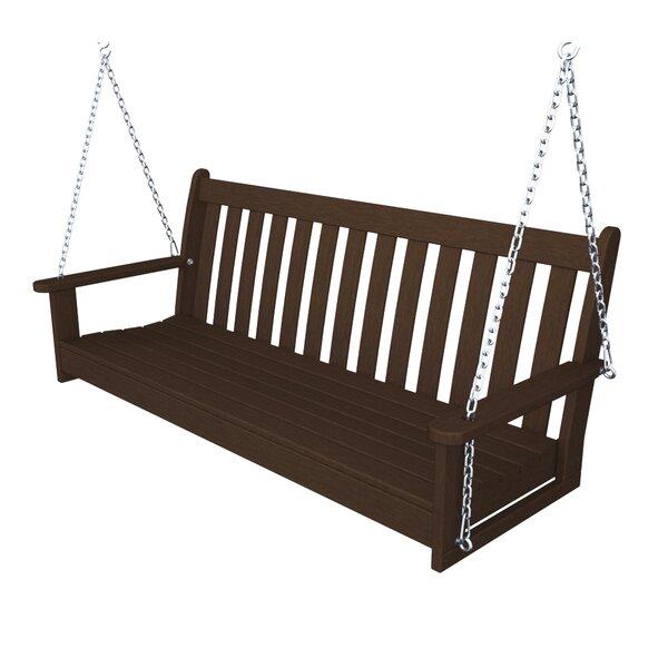 Polywood 174 Vineyard Porch Swing Amp Reviews Wayfair