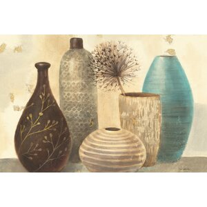Vessel Still Life II Painting Print on Wrapped Canvas by East Urban Home