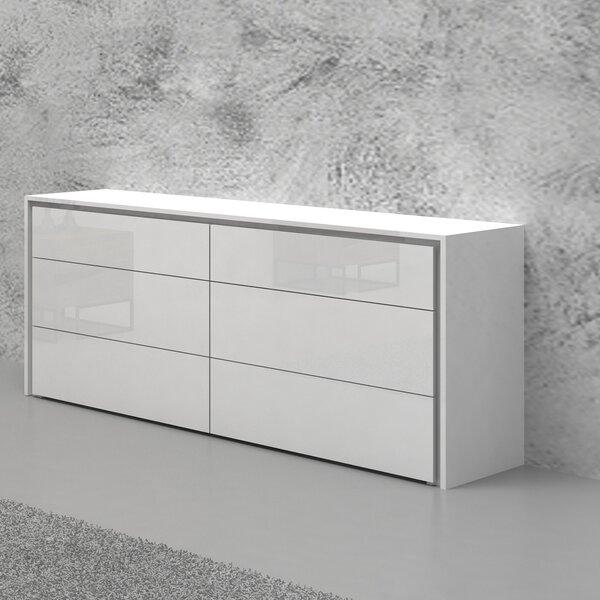 Austral 6 Drawer Double Dresser by Orren Ellis