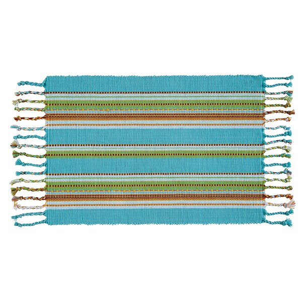 Tropical Stripes Placemat (Set of 6) by C&F Home