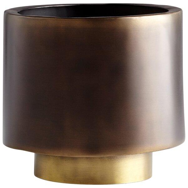 Euclid Aluminum Pot Planter by Cyan Design