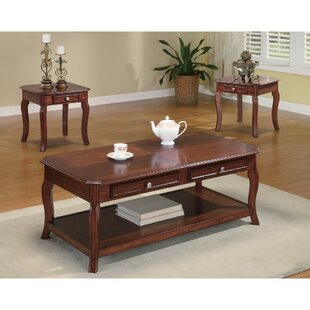 Else 3 Piece Coffee Table Set Astoria Grand
