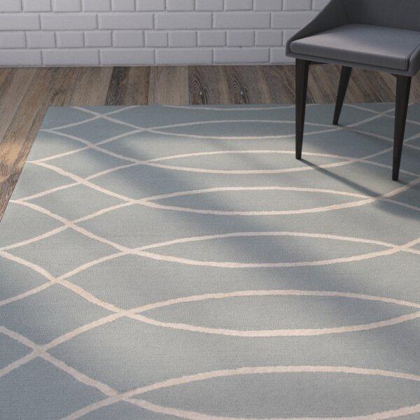 Mcglynn Beige/Light Gray Indoor/Outdoor Area Rug by Wrought Studio