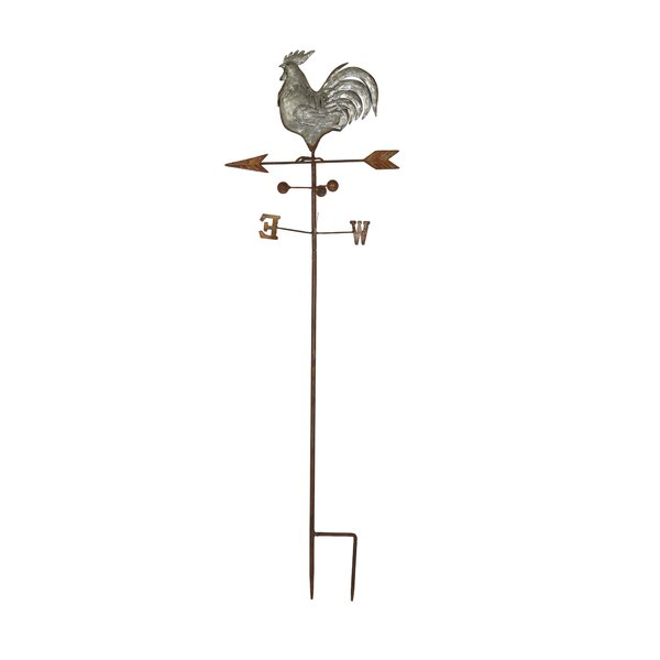 Farmhouse Rooster on Weathervane Gothic Trellis by Cole & Grey