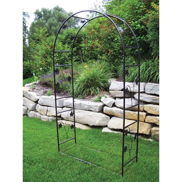Single Leaf Steel Arbor by Oakland Living