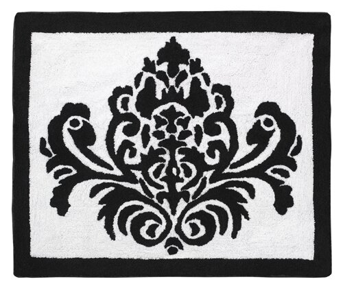Sloane Hand-Tufted Black/White Area Rug by Sweet Jojo Designs