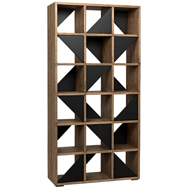 Grant Geometric Bookcase by Noir