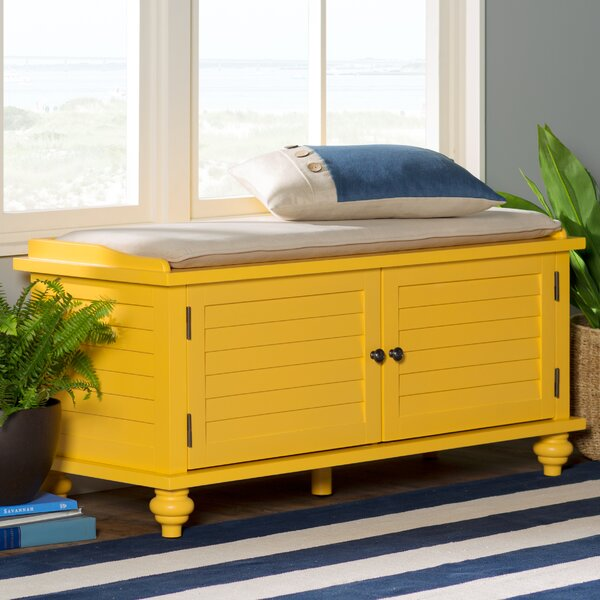 Indialantic Storage Bench by Beachcrest Home