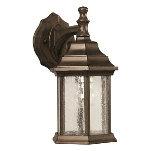 Order Stewart 1-Light Outdoor Wall Lantern By Alcott Hill