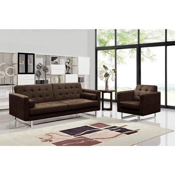 Reba 2 Piece Sleeper Living Room Set by Orren Ellis Orren Ellis