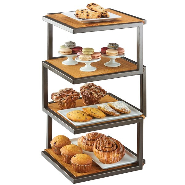 4 Level Elevation 25 H x 13.5 W Shelving Unit by Cal-Mil