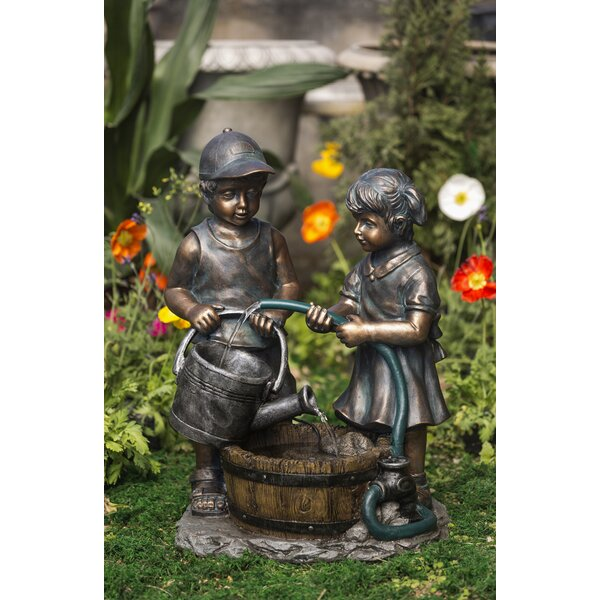 Resin/Fiberglass  Kids Water Fountain by Jeco Inc.