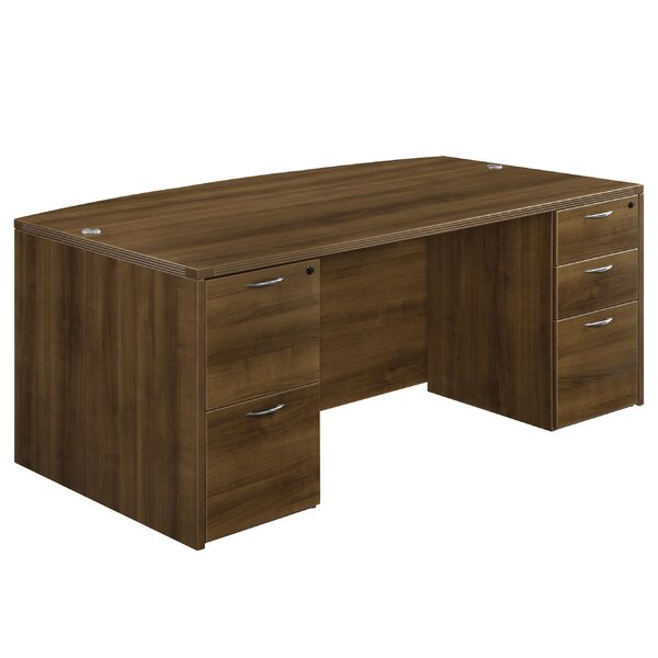 Fairplex 5 Drawers Executive Desk by Flexsteel Contract