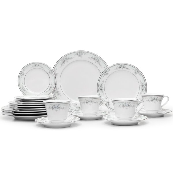 Sweet Leilani 20 Piece Dinnerware Set, Service for 4 by Noritake