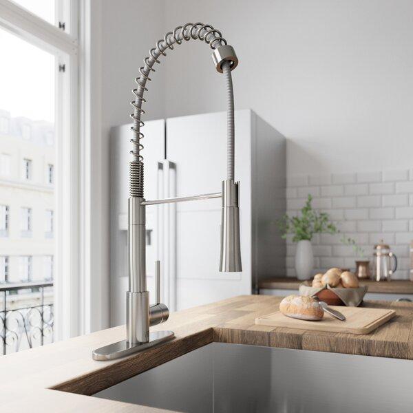 Laurelton Pull Down Single Handle Kitchen Faucet by VIGO