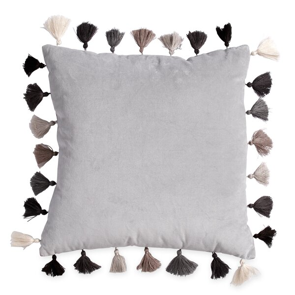 Topping Tassel Throw Pillow by Mistana