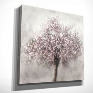 'Blossoms of Spring II' by Irene Weisz Painting Print on Wrapped Canvas by Wexford Home