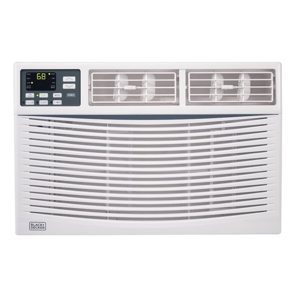 8,000 BTU Energy Star Window Air Conditioner with Remote by Black + Decker