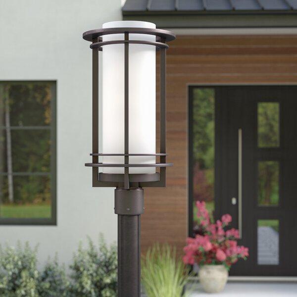 Nicholas 1-Light Outdoor Post Light by Brayden Studio