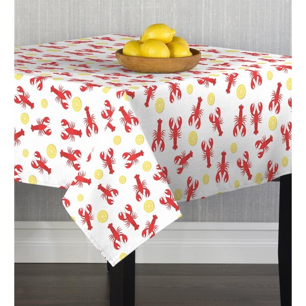 Aurora Lobster Bake Table Cloth by Breakwater Bay