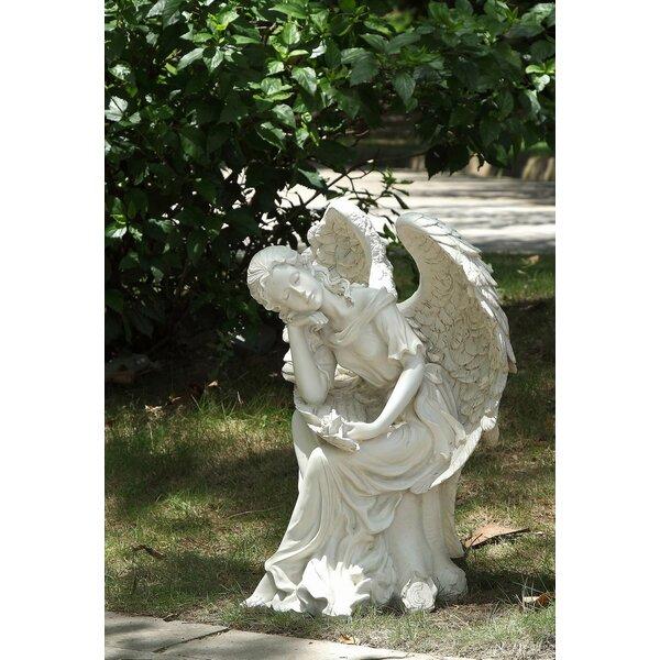 Sleeping Angel Statue by Hi-Line Gift Ltd.