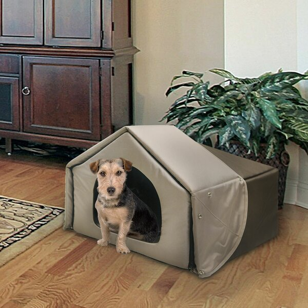 Richell Convertible Hooded Pet Bed by Richell