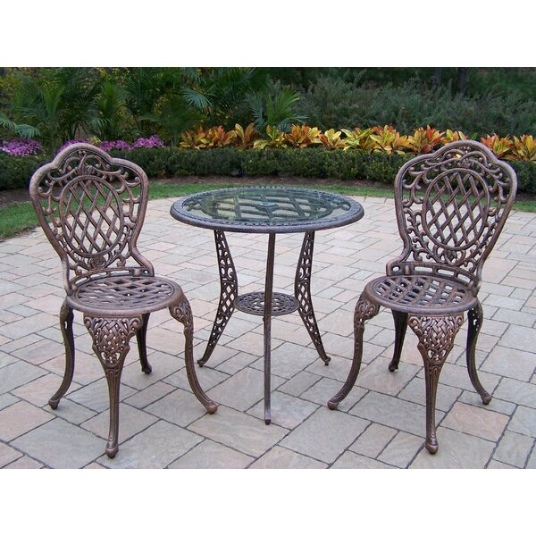 Mcgrady 3 Piece Bistro Set by Astoria Grand