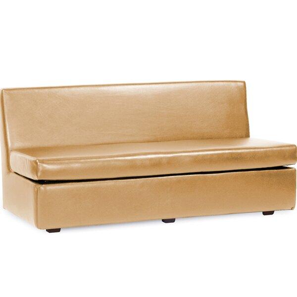 Box Cushion Sofa Slipcover by Orren Ellis