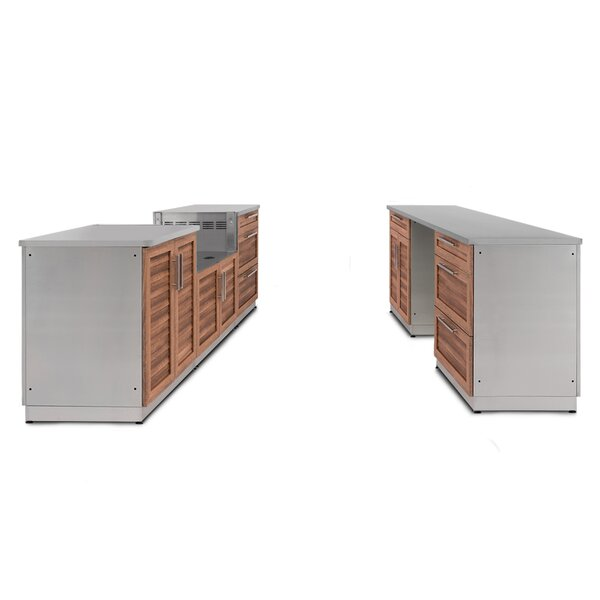 @ Kitchen 9 Piece Outdoor Bar Center by NewAge Products| #$5,699.99!